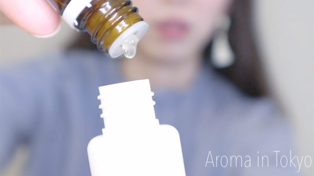 アロマロールオンの作り方